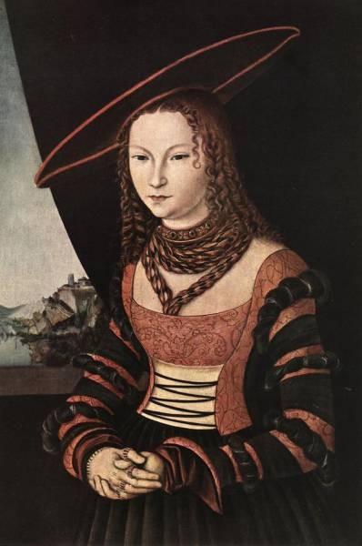 The elder portrait of a woman
